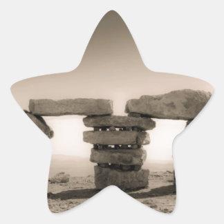 Israel's stonehenge star sticker