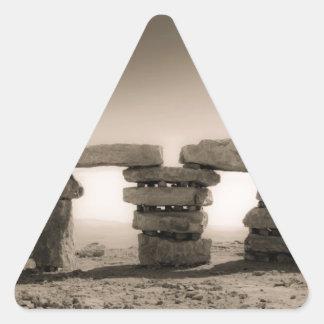Israel's stonehenge triangle sticker