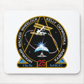 ISS Crews:  Expedition 25 Mouse Pad