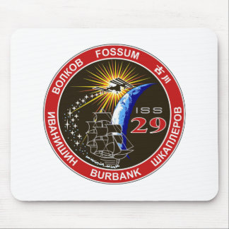 ISS Crews:  Expedition 29 Mouse Pad
