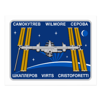 ISS Crews:  Expedition 42 Postcards