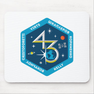 ISS Crews:  Expedition 43 Mouse Mat