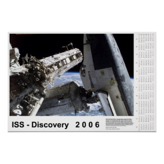 ISS-Discovery 2006 Calendar Poster