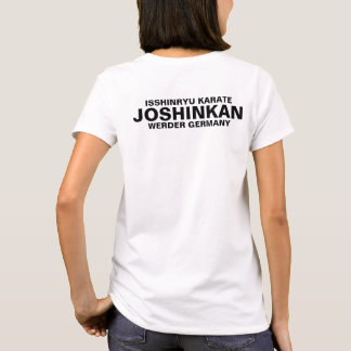 Isshinryu karate, Joshinkan, Germany, FM, white T-Shirt