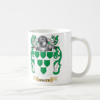 Issott Coat of Arms Family Crest Coffee Mugs