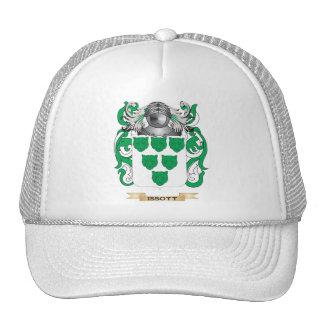 Issott Coat of Arms Family Crest Mesh Hat