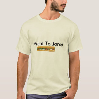 ist2_2204939_vector_sub_sandwich, I Went To Jared T-Shirt