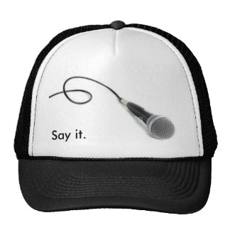 ist2_4718398_microphone, Say it. Hats