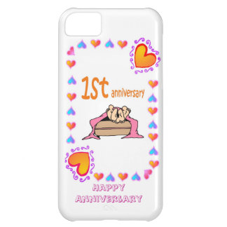 Ist wedding anniversary case for iPhone 5C