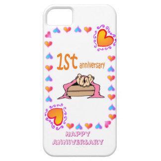 Ist wedding anniversary, iPhone 5 case