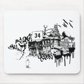 istanbul_01 mouse pad