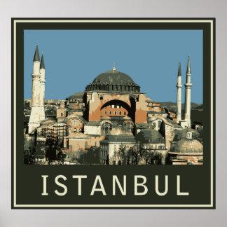 Istanbul Agia Sophia Poster