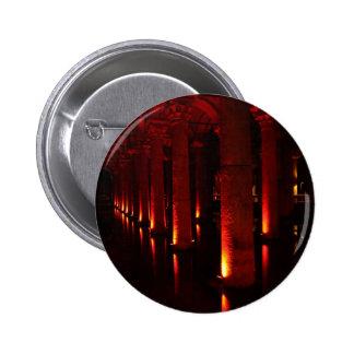 Istanbul cisterns 6 cm round badge
