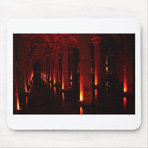 Istanbul cisterns mousepad