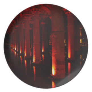 Istanbul cisterns plate