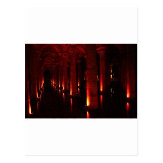 Istanbul cisterns postcard