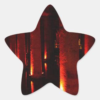 Istanbul cisterns star sticker