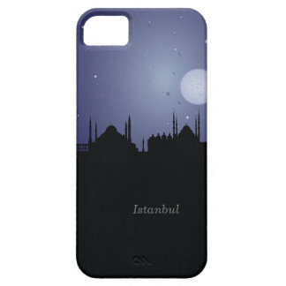 Istanbul CityScape Night Silhouette iPhone 5 Case