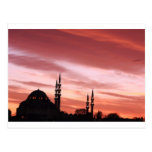 Istanbul-Mosque silhouette