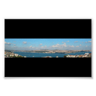 Istanbul Panorama Poster