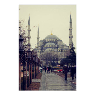 Istanbul print. Travel photography home decor wall