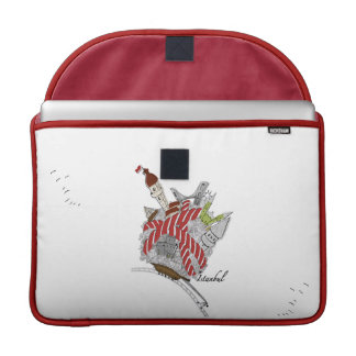 Istanbul Rickshaw Flap Sleeve MacBook Pro Sleeve