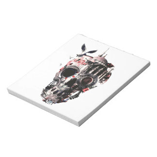 Istanbul Skull Notepad