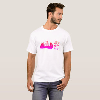 Istanbul T-shirt with Bosphorus Bridge colored