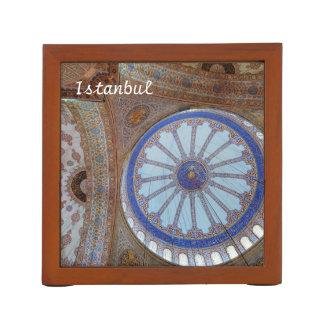 Istanbul, Turkey 2015 calendar template Desk Organiser