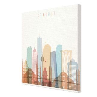 Istanbul, Turkey | City Skyline Canvas Print
