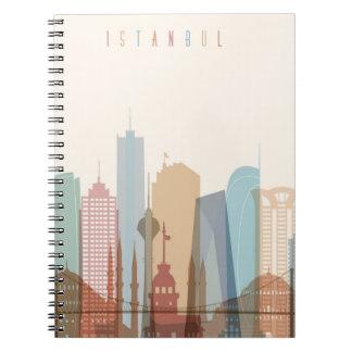 Istanbul, Turkey | City Skyline Notebook