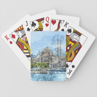 Istanbul Turkey Playing Cards