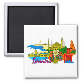 Istanbul - Turkey.png Refrigerator Magnets