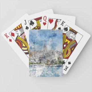 Istanbul Turkey Poker Deck