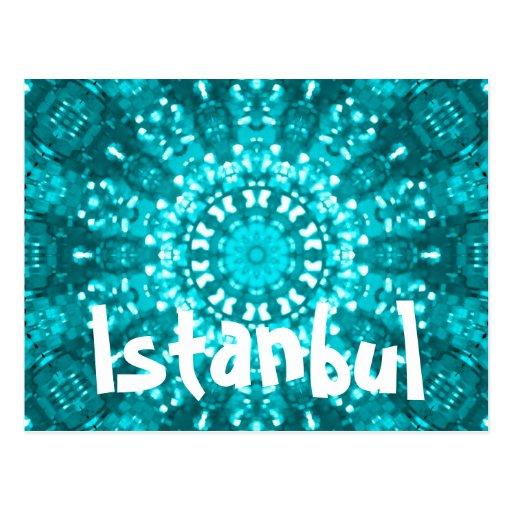 Istanbul Turkey postcard