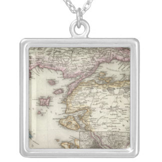Istanbul, Turkey Silver Plated Necklace
