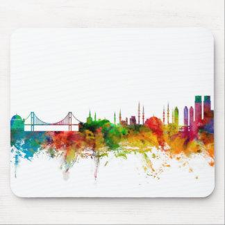 Istanbul Turkey Skyline Mouse Pad