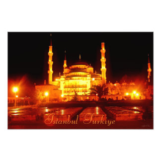 Istanbul Turkiye Mosque Photographic Print
