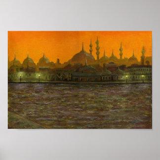Istanbul Türkiye / Turkey Poster