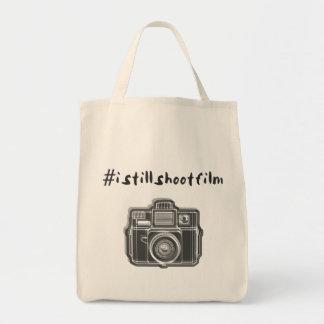 #istillshootfilm + camera grocery tote