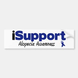 iSupport Alopecia Bumper Sticker