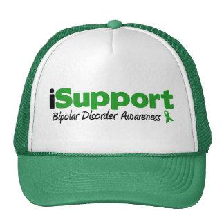 iSupport Bipolar Disorder Trucker Hats