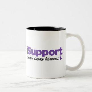 iSupport Crohn's Disease Two-Tone Mug