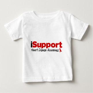 iSupport Heart Disease Baby T-Shirt