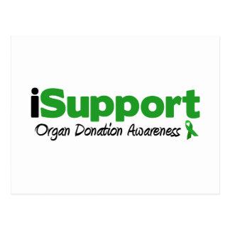 iSupport Transplants Postcard