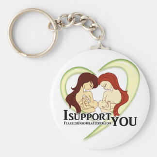 #ISupportYou Movement Swag Basic Round Button Key Ring