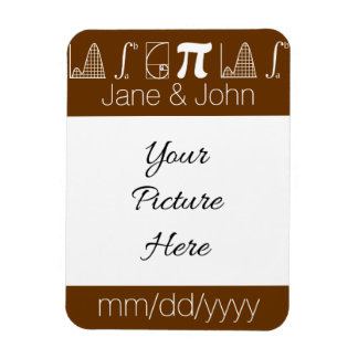 It Adds Up in Chocolate Save-the-Date Magnet