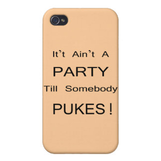 It Ain't a PARTY! Covers For iPhone 4