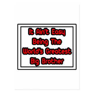 It Aint Easy World s Greatest Big Brother Post Cards