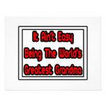 It Aint' Easy...World's Greatest Grandma